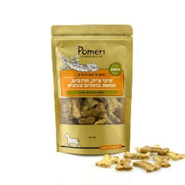 חטיף בריאות לכלבים – זרעי צ'יה, חרובים, חמאת בוטנים טבעית