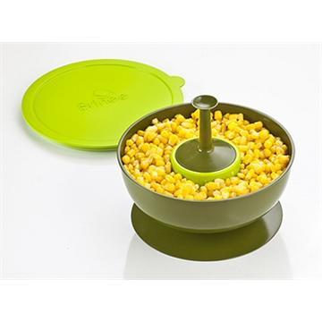 כלי לאחסון והגשה של מזון מושרה כמו תירס