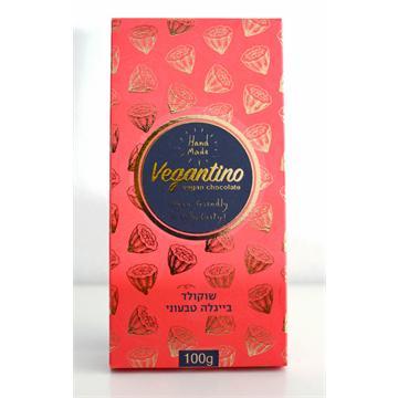 שוקולד טבעוני עם בייגלה
