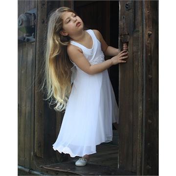 שמלת שיפון קלאסית לילדות