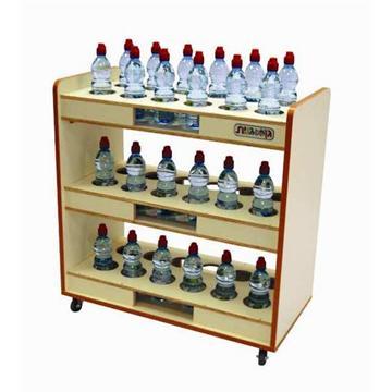 מתקן ל-36 בקבוקי שתיה אישיים