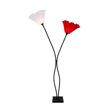 מנורת פרח שני קנים
