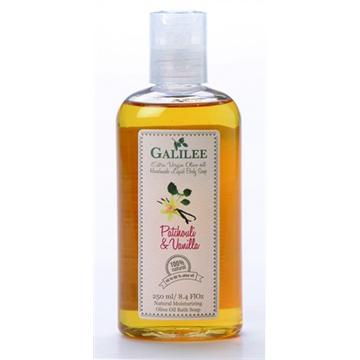 סבון גוף בריח פצ'ולי ווניל