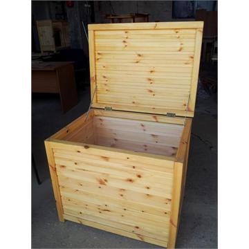 ארגזי אחסון מעץ אורן